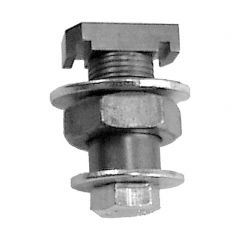 Track Tamer with Hex Nut