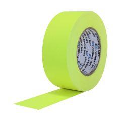 "Pro Console Premium Flatback Paper Tape (3/4"" x 60 yd) - Fluorescent Yellow"