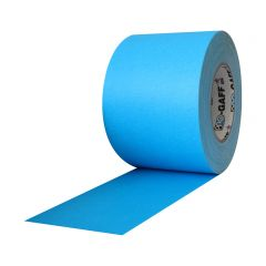 "Pro Gaff Matte Cloth Tape (4"" x 50 yd) - Fluorescent Blue"