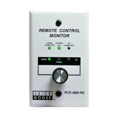 Remote Control Monitor with Wall- or Panel-Mount and Rotary Switch for CQ Series