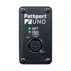 Pathport UNO Portable Gateway with 1 XLR5f DMX Output
