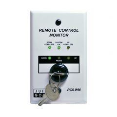 Remote Control Monitor with Wall- or Panel-Mount and Key Switch for CQ Series