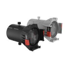 Ovation Ellipsoidal HD Lens Tube (IP-Rated) - 26-Degrees, White