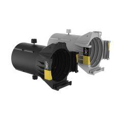 Ovation Ellipsoidal HD Lens Tube (IP-Rated) - 36-Degrees, White