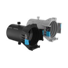 Ovation Ellipsoidal HD Lens Tube (IP-Rated) - 50-Degrees, White