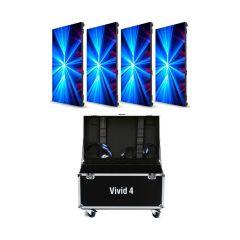 Vivid 4 Video Panels (4-Pack)