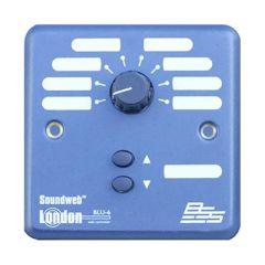 3RSU9010-2 Audio Rack Panel for Mounting 2x 3U BLU-10/BLU-8 Wall Controllers