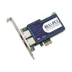 BLU-PCI 64 Channel PCI Express Sound Card - BLU Link