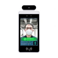 Dynamic Detection Display Temperature Scanner and Facial Recognition for Wall Mounting (Base Unit)